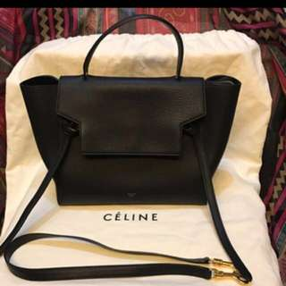 Celine belt bag mini with receipt