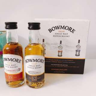 Bowmore Islay Scotch whisky 2x50ML