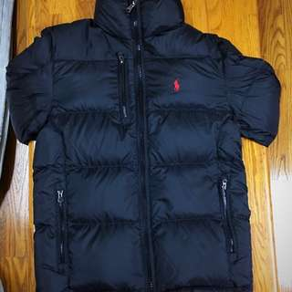 🚚 Ralph Lauren 頂級羽絨外套 超級抗寒 保證正品 xs號 黑 高質感 全新 含吊牌