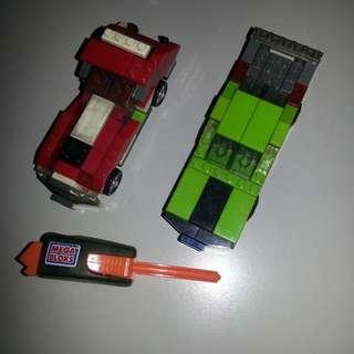 2 NanoBlock Cars SET