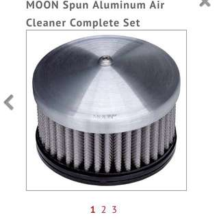 Authentic Moon Eyes Air Filter 7 hole