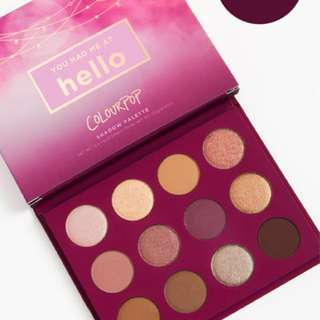 Colourpop palette You Had Me at Hello