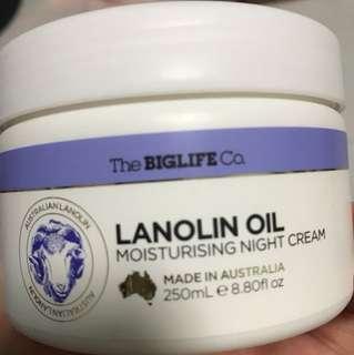 Australia Lanolin oil body lotion