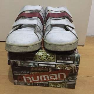 White sneakers Size 10 (Human)