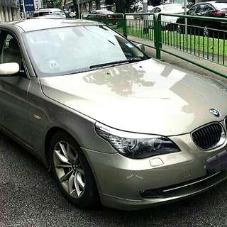 BMW 525XL 2008 LCI Model Vacuum Doors Powerful And Fuel Efficient 2.5L Engine 6 Speed Tiptronic Push Start Cruise Control Status : 🇸🇬 ( S'PORE )  Excellent Condition  For Spare Parts Or Track Use.   Interested Pls Click 👇 ( CHAT )
