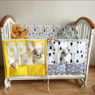 Baby cot side Organizer