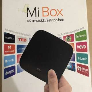 Xiaomi MiBox 4K Android TV Box (brand new)
