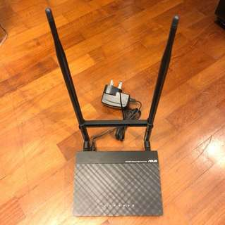 Asus Router - RT-N12HP Wireless-N High Power Router