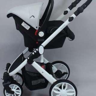 Looping baby stroller. Sure like new one