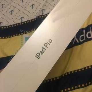 I pad pro WiFi 12.9吋 256g 太空灰 全新行貨