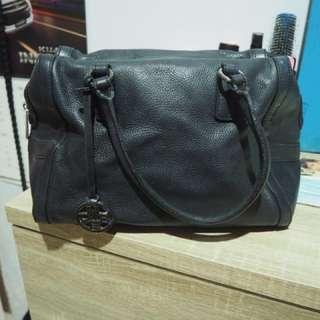 Black bag with strap Pino Betti