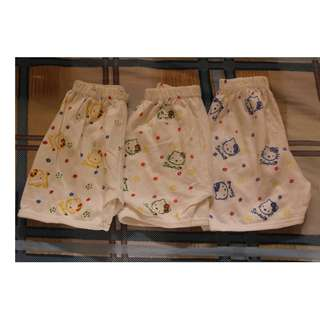Take 3 Hello Kitty Shorts for baby girls