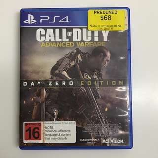 PS4 Game - Call of Duty