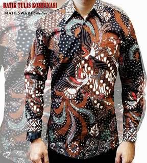 Batik solo kombinasi tulis