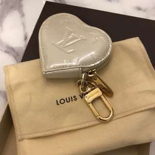 All new Louis Vuitton heart shape small keychain/pouch