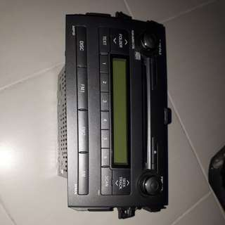 Original Toyota Altis CD HUD Player
