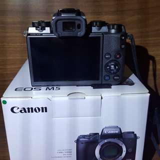 Canon M5 + canon 18-55mm with sandisk 16G