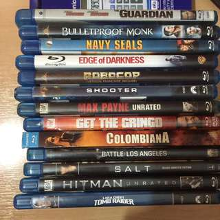 Imported Region A Bluray -assorted Genre