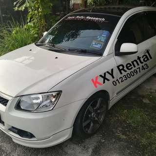 Proton Saga SE 1.3 (Manual) For Rent