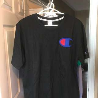 Black Champion T-shirt