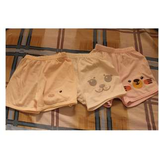 Take 3 Little Wishes Shorts for baby girls