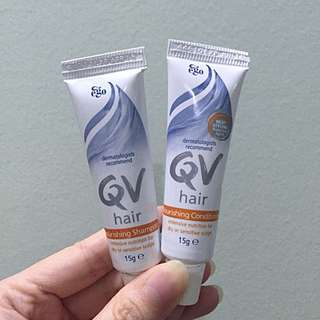 Travel Size QV Hair Nourishing Shampoo & Conditioner