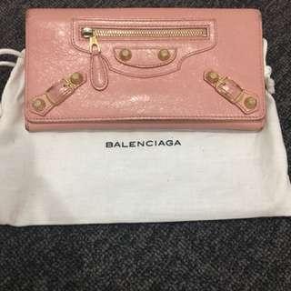 Balenciaga classic money wallet