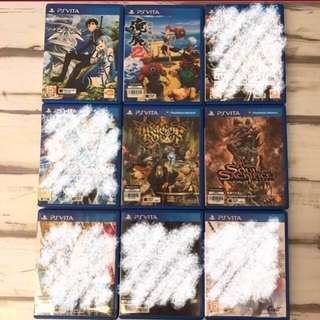 [CLEARANCE] PS Vita Games