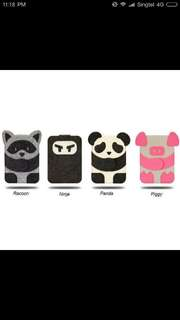 """*** BUBM Cute Character mini iPAD / 7"""" PAD cover pouch"""