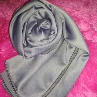 Pasmina velvet dark grey