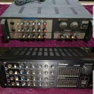 Martin Roland & Challenger Karaoke Amplifier/Mixer