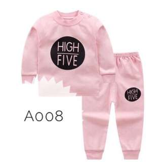 Baby girl pyjamas sleepsuit