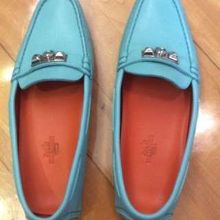 Wore once hermes loafer