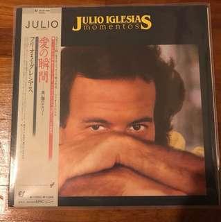 Audiophile Vinyl LP Record Julio Iglesias Momentos