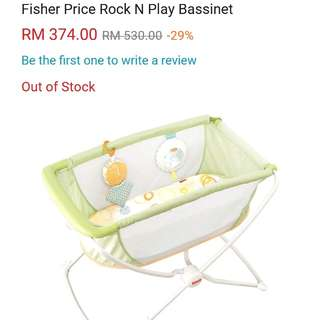 Fisher Price Rock N Play Bassinet