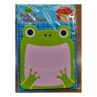 Frog froggie Animal Post it Sticky Notes Memo Pads- Free normal postage