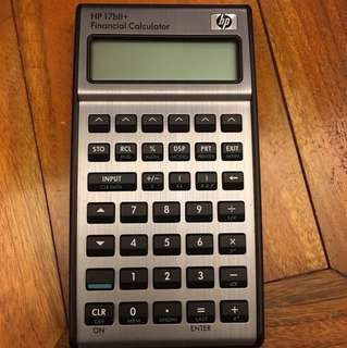 HP 17bll+ financial calculator (99% new with new batteries)