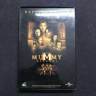 [VCD] The Mummy Returns (Limited Collector's Edition) With Holographic Card