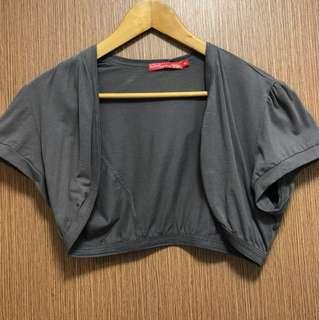 Mini Short Sleeves Cardigan Outerwear