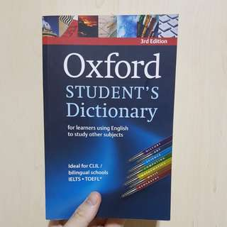 Oxford Dictionary (Third Edition)