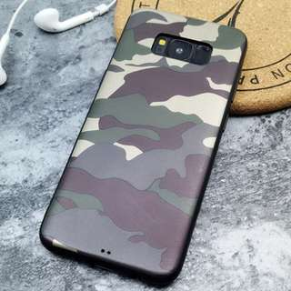 Premium Samsung Galaxy S8 / S8 plus Army Camouflage Case/cover