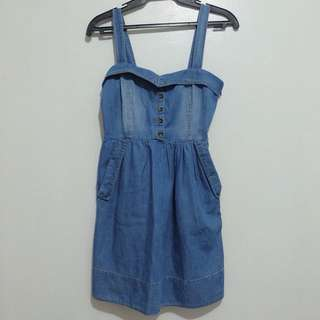 Forever 21 Soft Denim Dress