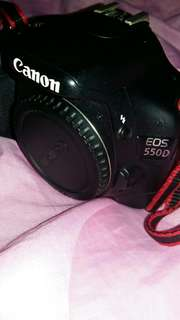 Canon eos 550d (body only)