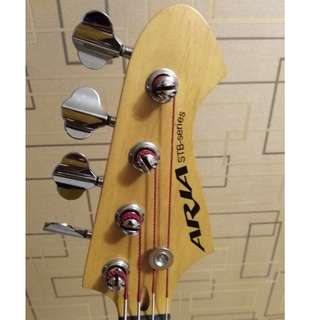 4 String Bass Guitar Aria STB JB series