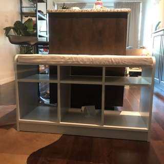 Storage with seating