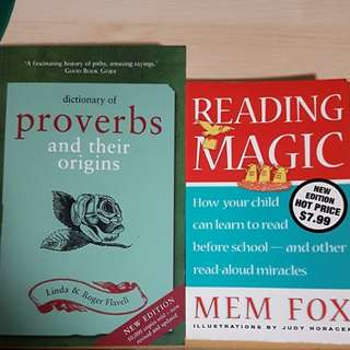 Dictionary of Proverbs, Reading Magic