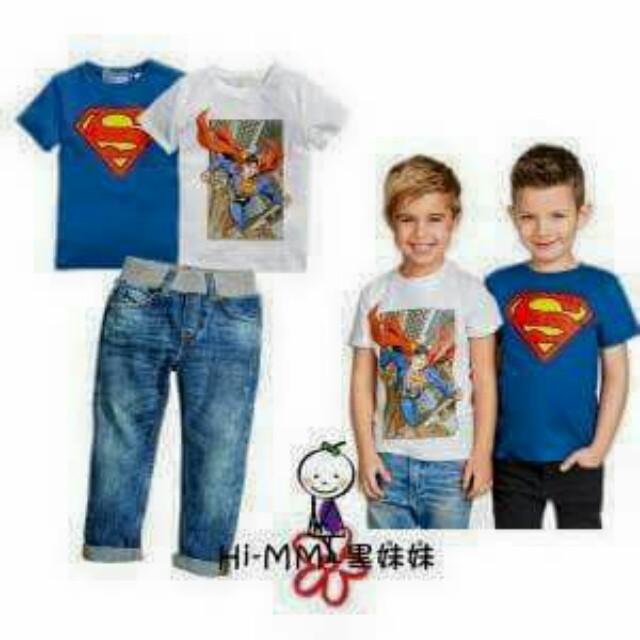 3 pcs superman