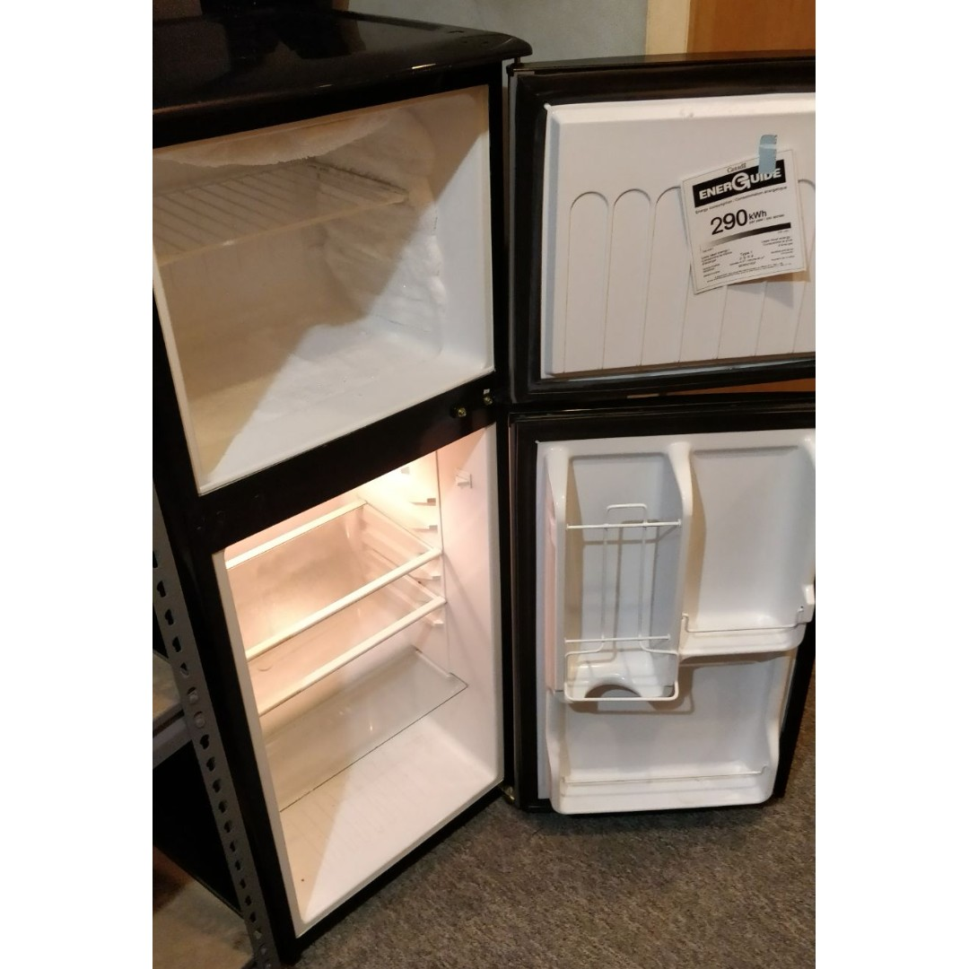 4.3 cu.ft. Magic Chef Refrigerator (Stainless Steel)