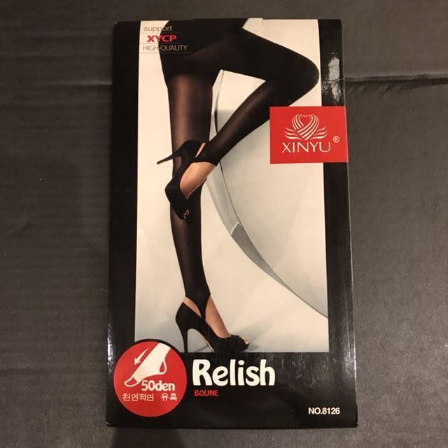 全新💯黑色踩腳絲襪