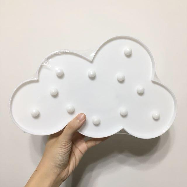 雲朵造型燈